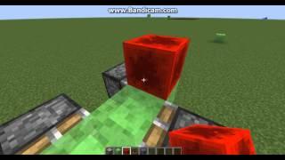 Машина в minecraft без модов из блока слизи