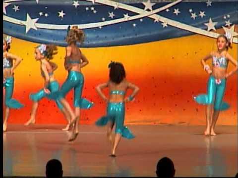 Disney The Little Mermaid Under the Sea Acro Dance