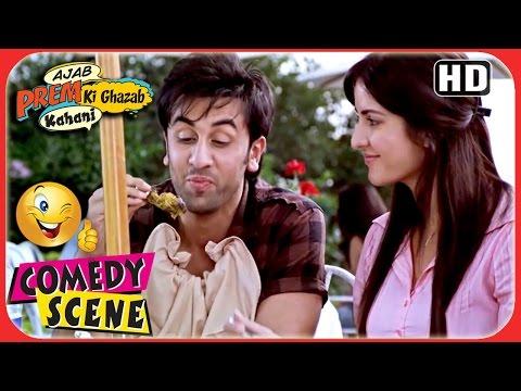 Ajab Prem Ki Ghazab Kahani  Jenny Hates Nonveg  Ranbir Katrina Comedy Scene