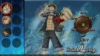 One Piece: Grand Adventure PlayStation 2 Clip - Game Intro
