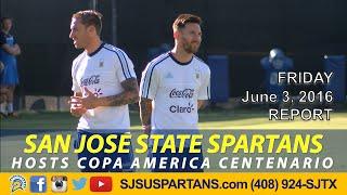 messi comes to sjsu for copa america centenario friday 6 3 16
