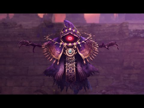 Hyrule Warriors 'Wizzro' gameplay trailer