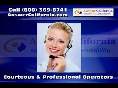 Answering Service in El Cajon CA -- Answer California