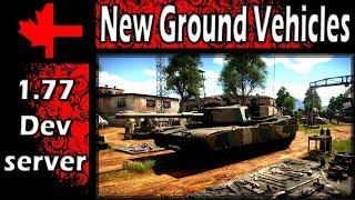 War Thunder - Dev Server - Update 1.77 - New Ground Vehicles