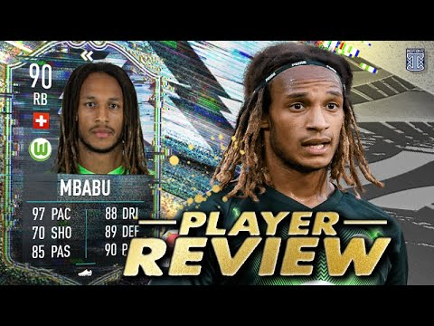 Download OKAY EA... CHILL! 😨 90 FLASHBACK MBABU PLAYER REVIEW! - FIFA 21 ULTIMATE TEAM