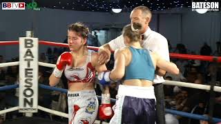 SAM 'SJ' SMITH VS KATRINA KOPINSKA - BBTV - BATESON PROMOTIONS LEEDS