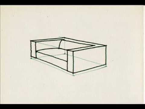 How To Draw A Sofa By Miandza