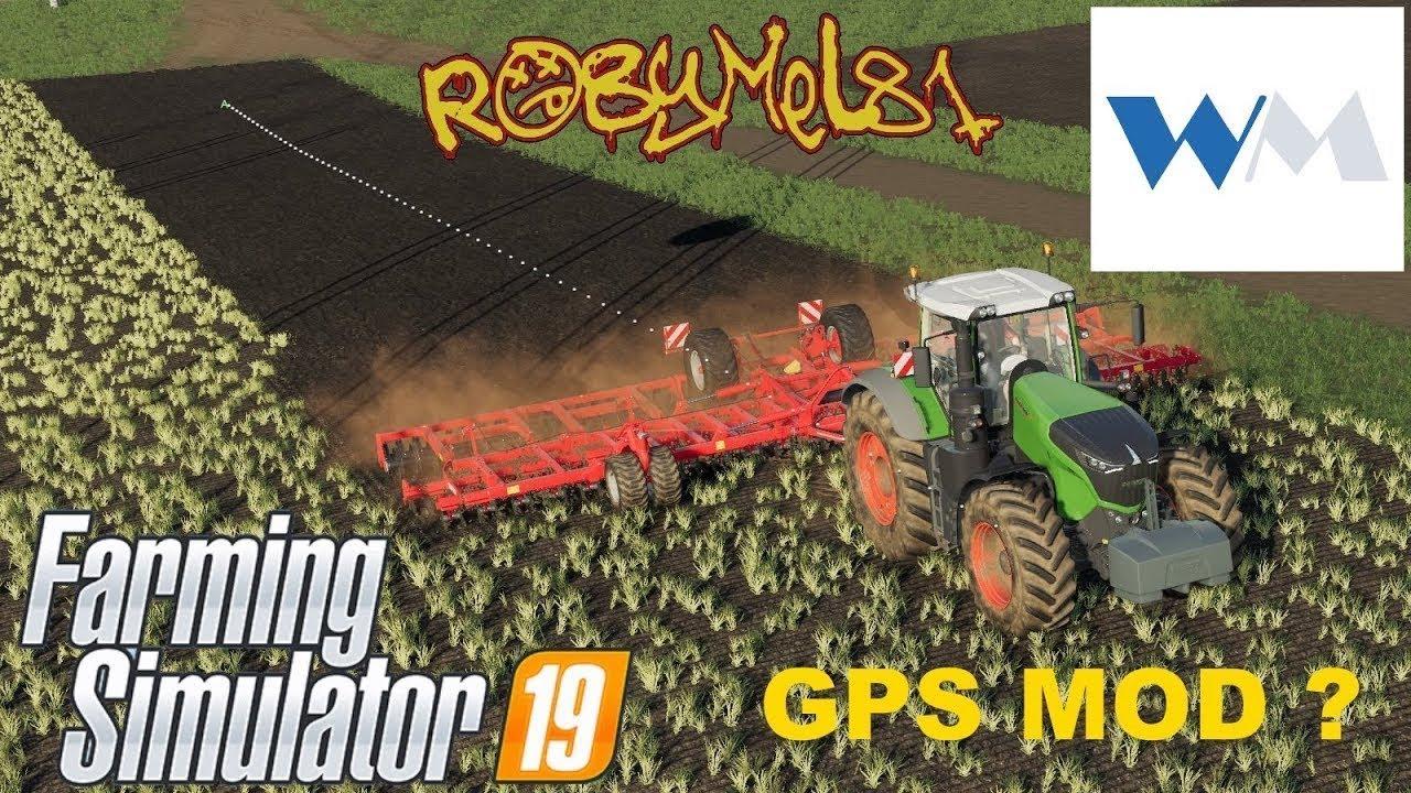 Farming Simulator 2019 - La Gps mod di Wopster