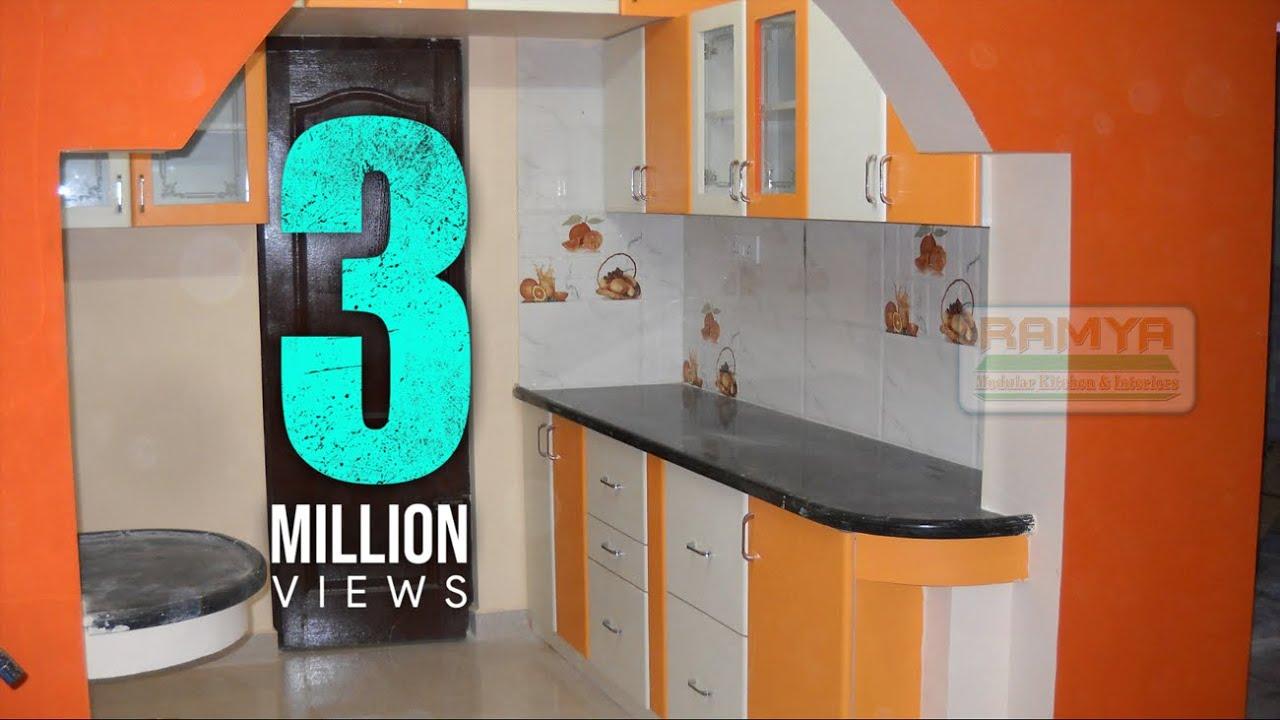 Ramya Modular Kitchen Interiors Mr Alxander Madhavaramm 2