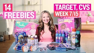 ★ 14 FREEBIES - Target & CVS Coupon DEALS (Week 7/15 – 7/21)