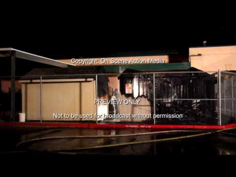 Granite Bay, CA: Granite Bay High School Structure Fire 2016 07 23