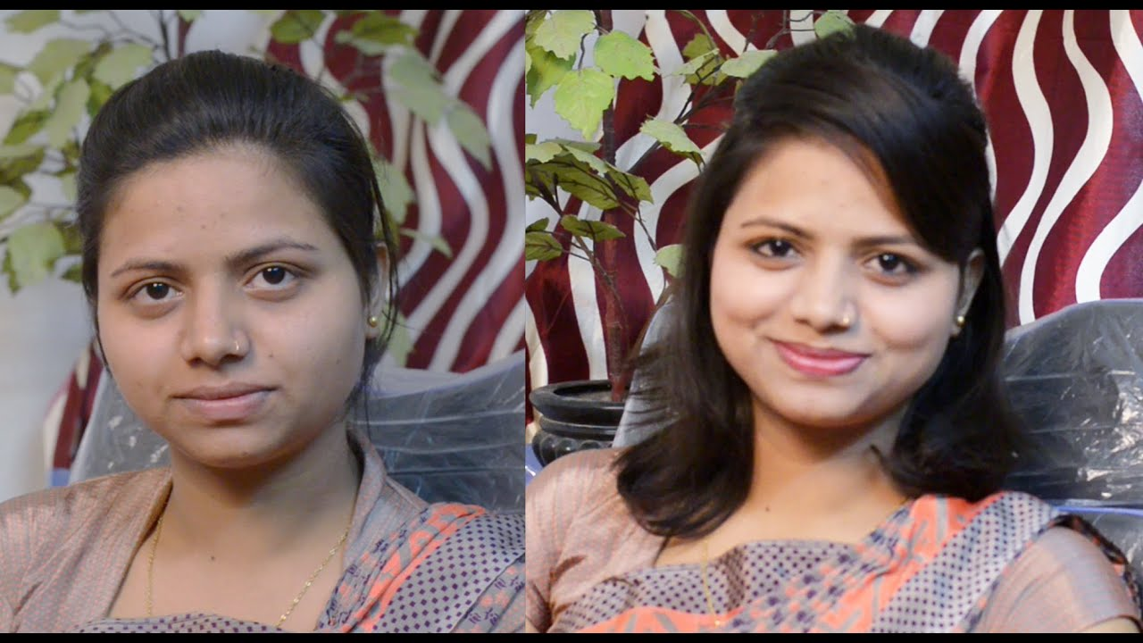 How To Apply Simple Makeup In Hindi