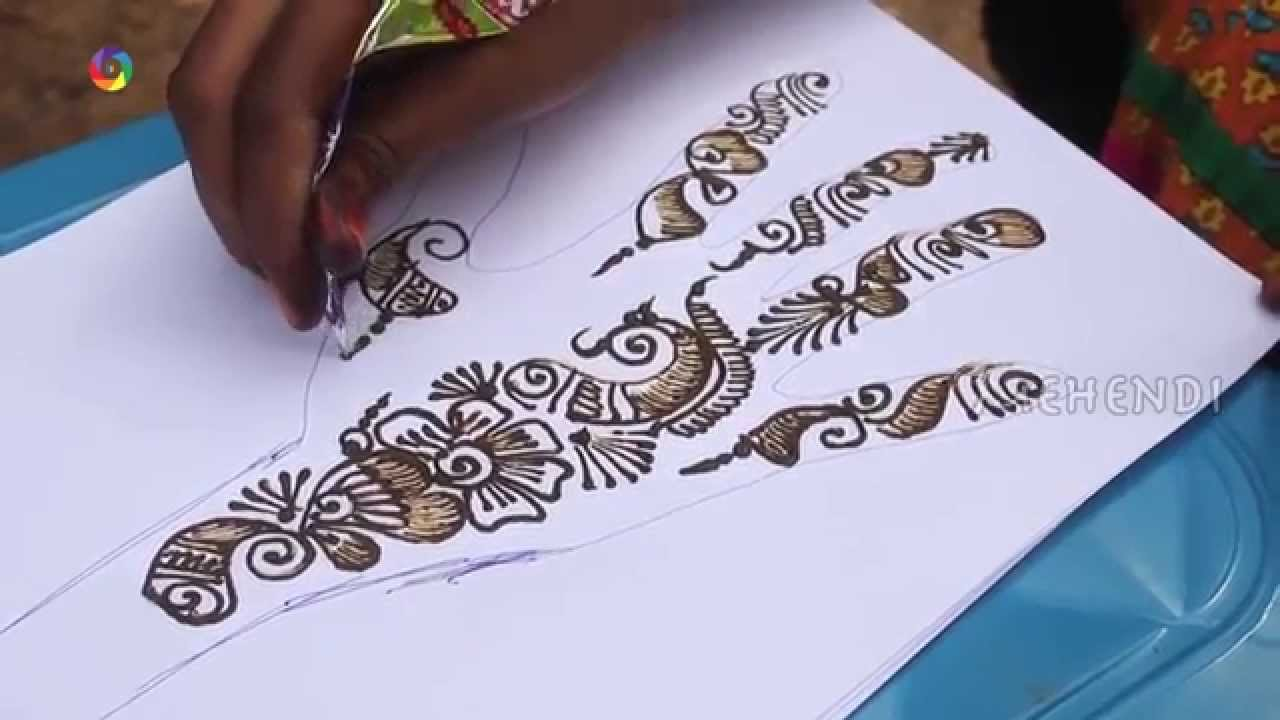 How To Draw Abest Arabic Right Hand Design On Paper Art Youtube