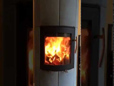 po le bois double combustion youtube. Black Bedroom Furniture Sets. Home Design Ideas