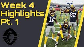 Alliance of American Football Week 4 Highlights Part 1