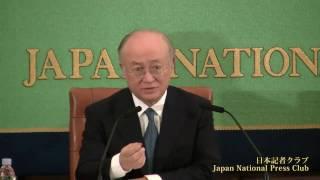 天野之弥 国際原子力機関(IAEA)事務局長 2011.3.18
