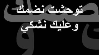 تفكرني بالخير زهير البهاوي كلمات الأغنية Zouhair bahaoui Tfekarni belkhir Lyrics