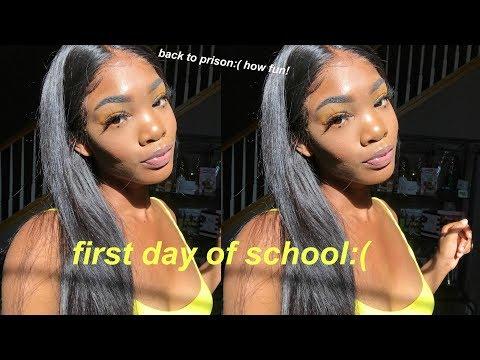 GRWM FIRST DAY OF SCHOOL 2018: SENIOR YEAR