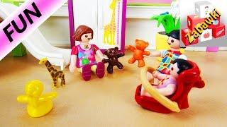 Playmobil historyjka Lena i Chrissi opiekują się Elsą