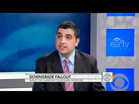 Impact of downgrade on consumers, investors