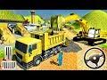 Uphill Runway Road Builder Vegas Airport Construction Simulator - Android GamePlay