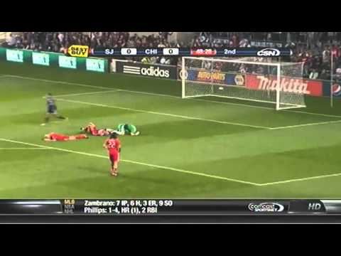 Marco Pappa marcó el Gol del Año en la MLS 2010 - Goal of the year