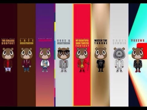 Ranking Kanye West's Discography