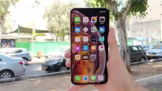 iPhone XS Max - סקירת וידאו