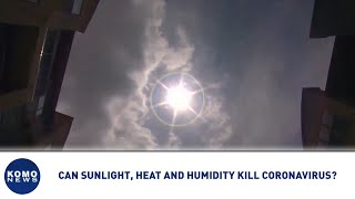 Can sunlight, heat and humidity kill coronavirus? | KOMO News Daily Digest