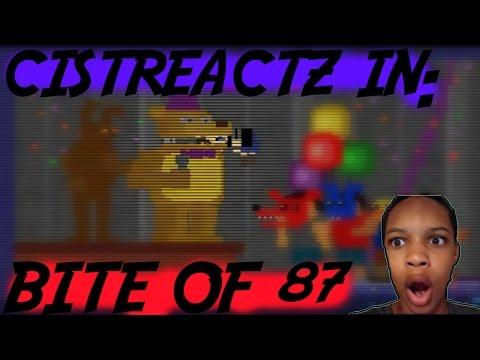 FNAF 4 BITE OF 87 REACTION | CRUNCH
