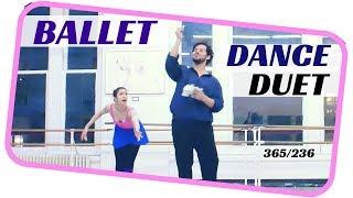 ballet  dance duet- dancing everyday 365 ballets - ballet duet 236