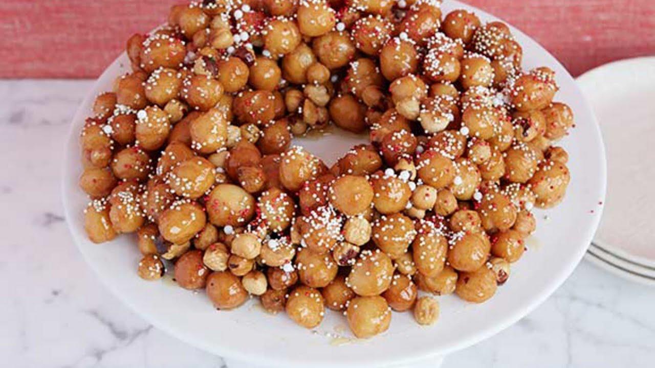 Italian Christmas Cookie Recipes Giada.Giada S Struffoli Food Network
