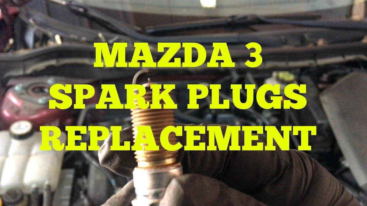 Mazda 3 Spark Plug Replacement