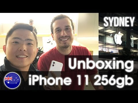 Finally Bought IPhone 11 & Unboxing From Apple Sydney