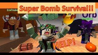 Roblox Super Bomb Survival!!! -MOMENTS DRÔLES-