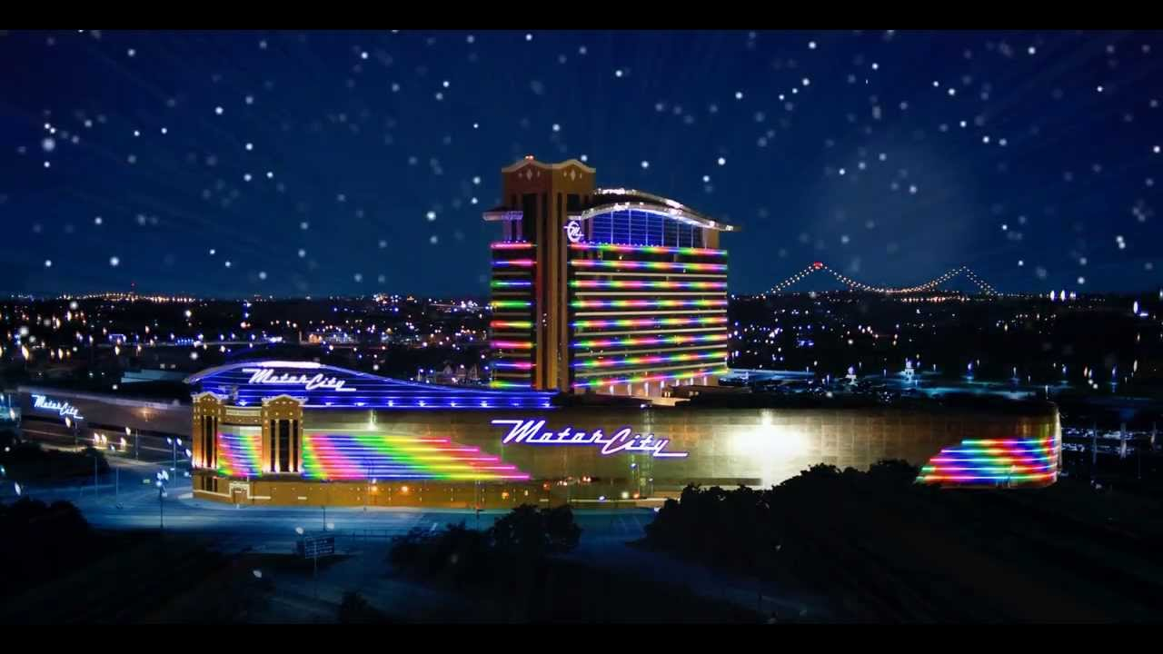 Happy holidays from motorcity casino hotel youtube for Motor city hotel casino
