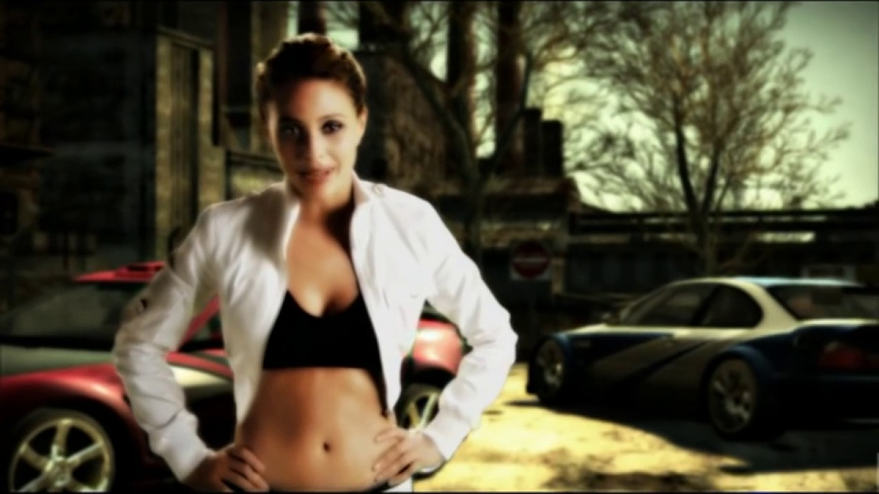 Need for speed most wanted 2005 girl