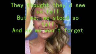 Whenever You Remember-Carrie Underwood {with lyrics}