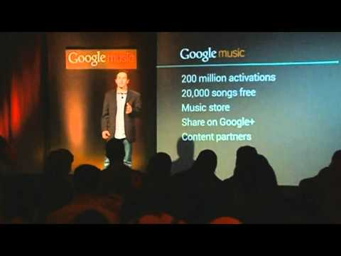 GOOGLE MUSIC: Internet giant sets up online music store