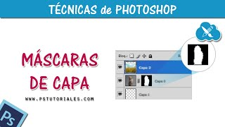 Uso de máscaras de capa - Photoshop Tutorial Español