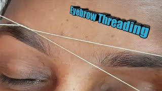 How to do eyebrow threading perfectly/eyebrow threading tutorial
