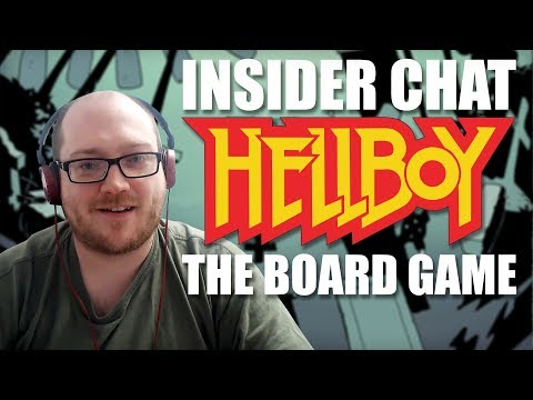 Insider Chat - Hellboy: The Board Game with James Hewitt
