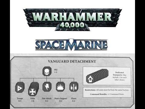 warhammer 40k detachments 8th edition