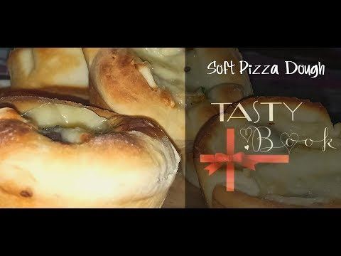 How To Make Home Made Soft Pizza Dough || Easy To Make Soft Dough || پیزا ڈو