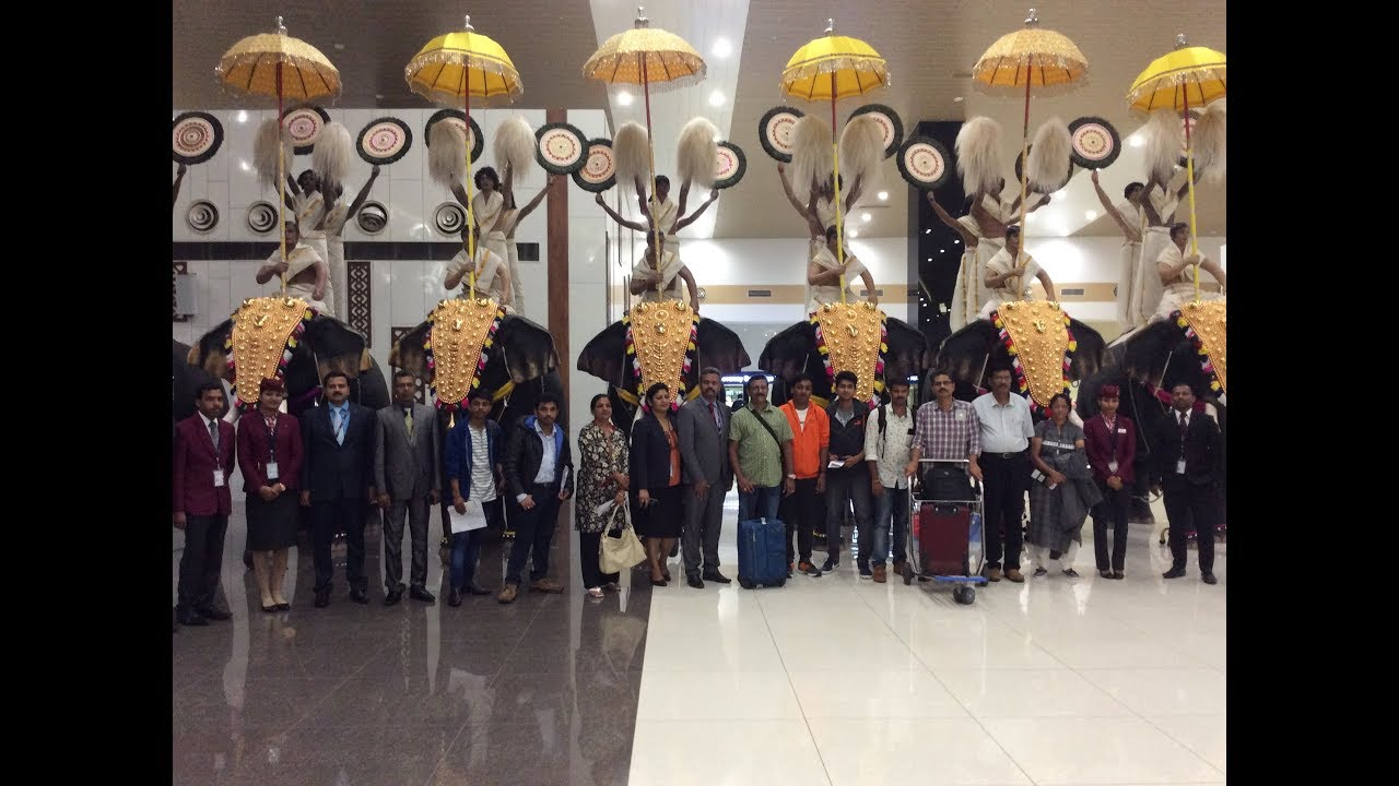 Asianet News Space salute team departure from kochi