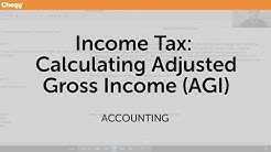 Income Tax: Calculating Adjusted Gross Income (AGI) | Accounting | Chegg Tutors