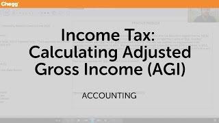 Gambar cover Income Tax: Calculating Adjusted Gross Income (AGI) | Accounting | Chegg Tutors