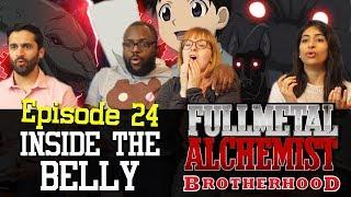 Fullmetal Alchemist: Brotherhood - Episode 24 - Inside the Belly - Group Reaction