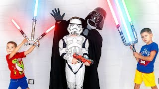 Darth Vader and the Rise of Little Jedis. Star Wars (parody) #theriseofskywalker