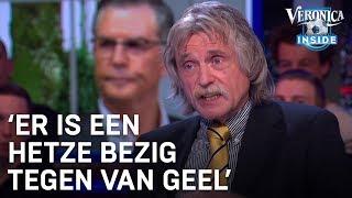 Johan Derksen: 'Er is een hetze bezig tegen Martin van Geel'